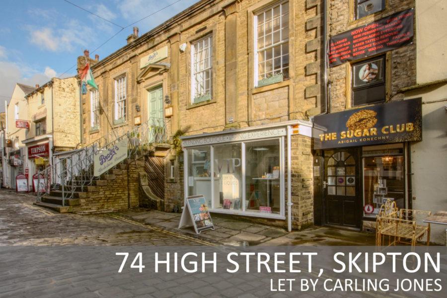 Skipton High Street Shop